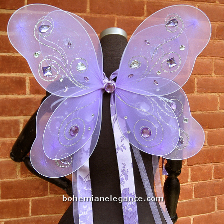 Enchanting Lavender Ice Fairy Costume