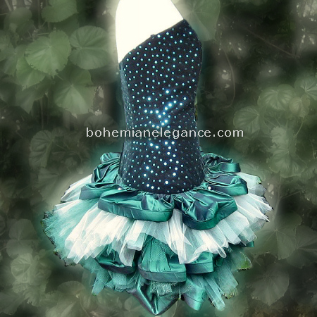 French Pouf Tink la Bell Fairy Costume