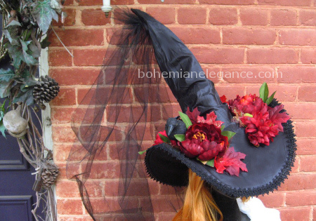 September Fire Witch Hat