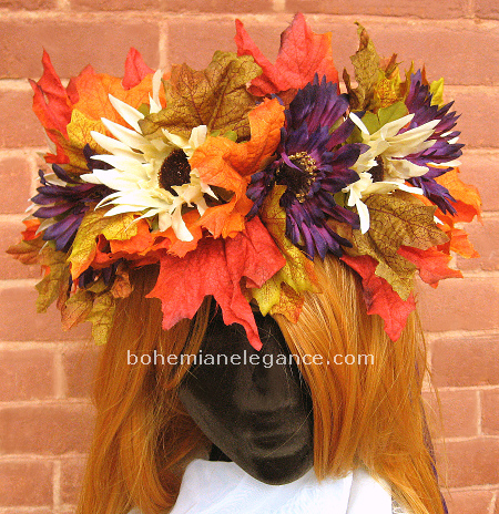 Autumn Magic Fairy Crown