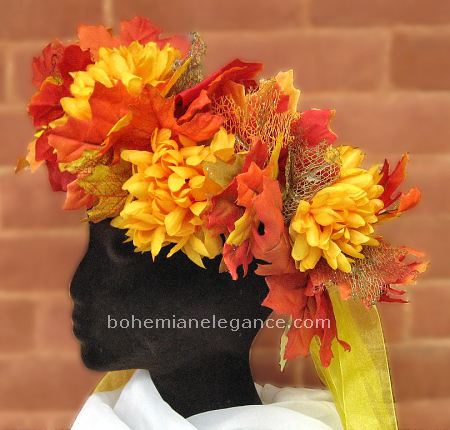 October Gold Headwreath