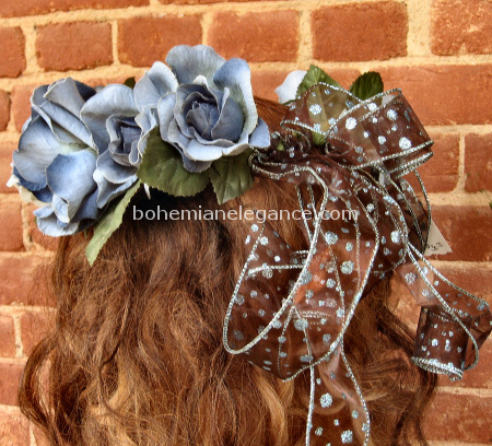 Fairy Crown Dusty Blue Rose