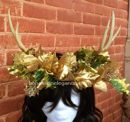 The Holly King's Winter Solstice Crown