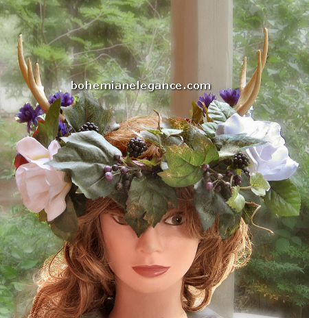 Mid Summers Eve Horned Pagan Crown
