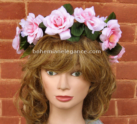Pretty Pink Fairy Crown