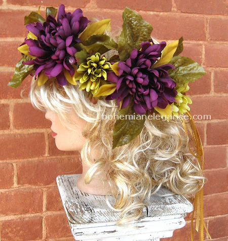 Plum Dreams Fairy Crown